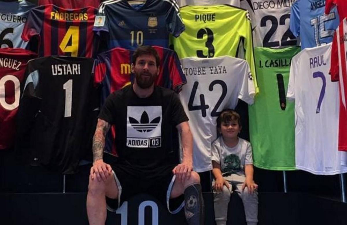 Los amigos de Messi