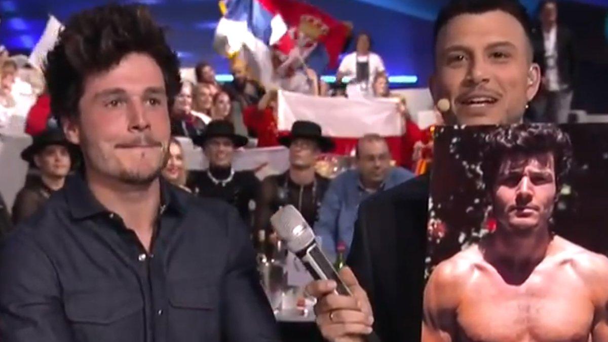 Eurovisión enseña la actuación de Miki al completo y una de sus fotos más comentadas