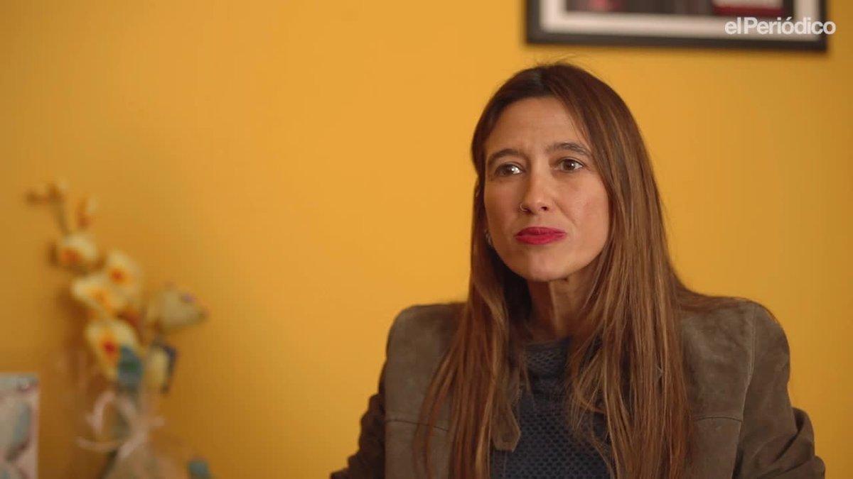 El minuto indiscreto de Núria Parlon, alcaldesa de Santa Coloma de Gramenet.