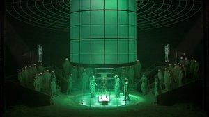 Un momento de la ópera 'Frankenstein' en Bruselas.