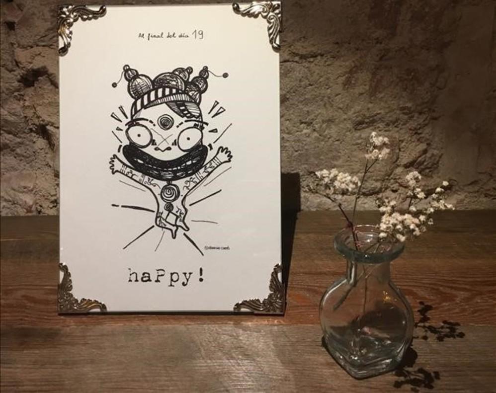 Las emociones hechas dibujo de Francina Cortés