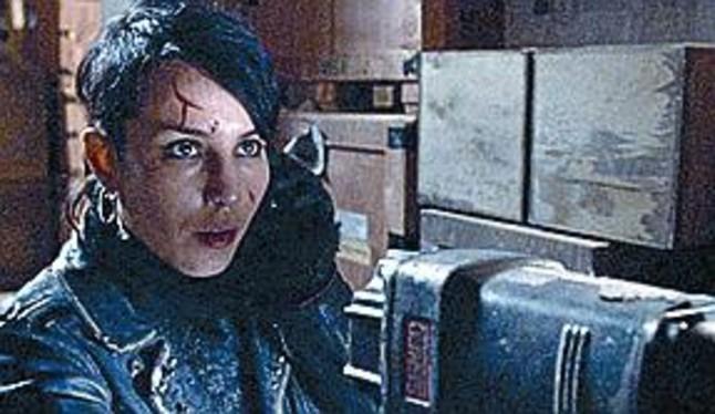 Noomi Rapace, la Lisbeth de la trilogía cinematográfica sueca.