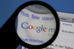La página de Google.
