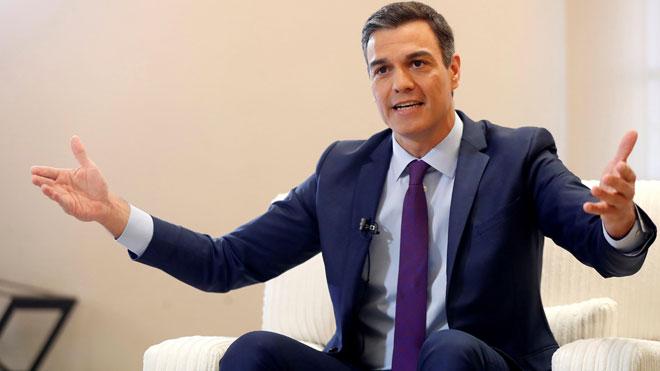 Pedro Sánchez: Los que abogan por el 155 quieren perpetuar la crisis en Catalunya.
