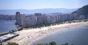 Playa delItararé,en Sao Vicente.