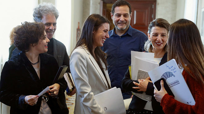 Podemos complica la vida a Sánchez en el Congreso