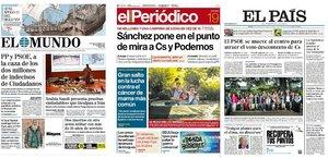 Prensa de hoy: Las portadas de los periódicos del jueves 19 de septiembre del 2019