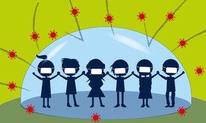 ¿Qué pasará cuando abramos las escuelas?, por Salvador Macip, ilustración de Trino.