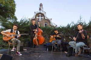 El Park Güell será el inmejorable escenario de los conciertos.