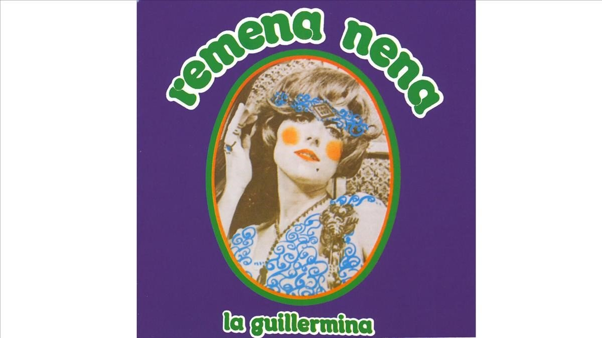 Portada del disco 'Remena nena', de Guillermina Motta.