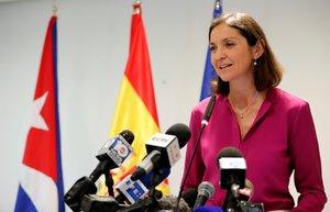 La ministra de Industria, Comercio y Turismo de España, Reyes Maroto.