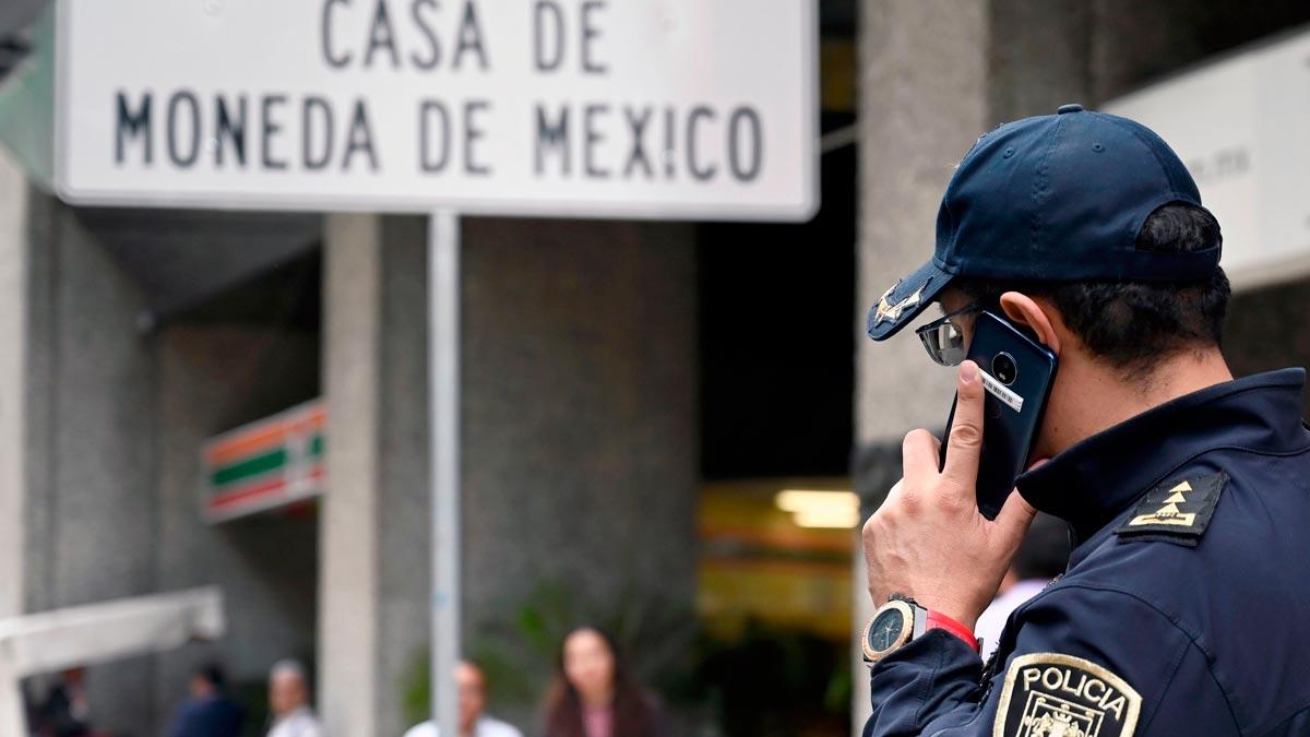 Robo millonario en la Casa de la Moneda de México.
