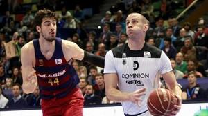 El Barça s'estavella en el primer enfrontament