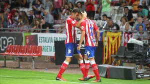 Un Girona muy frágil empata con el Almería (3-3)