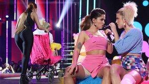 Samantha y Anaju en la Gala 8.
