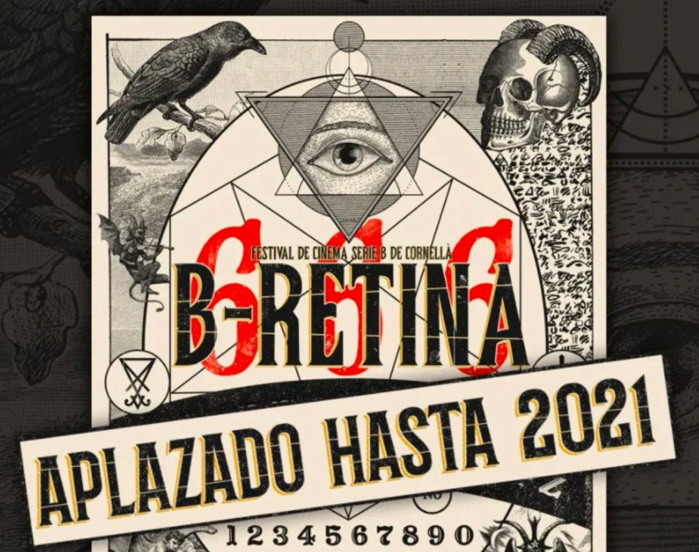 La sexta edición del festival de cine B-Retina de Cornellà se celebrará en septiembre de 2021