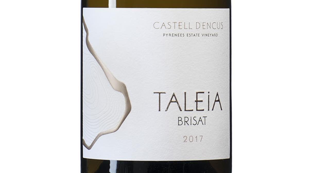 Taleia Brisat 2017, de la bodega Castell d'Encús, en Talarn (Pallars Jussà).