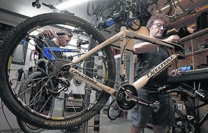Un taller de bicis con conciencia