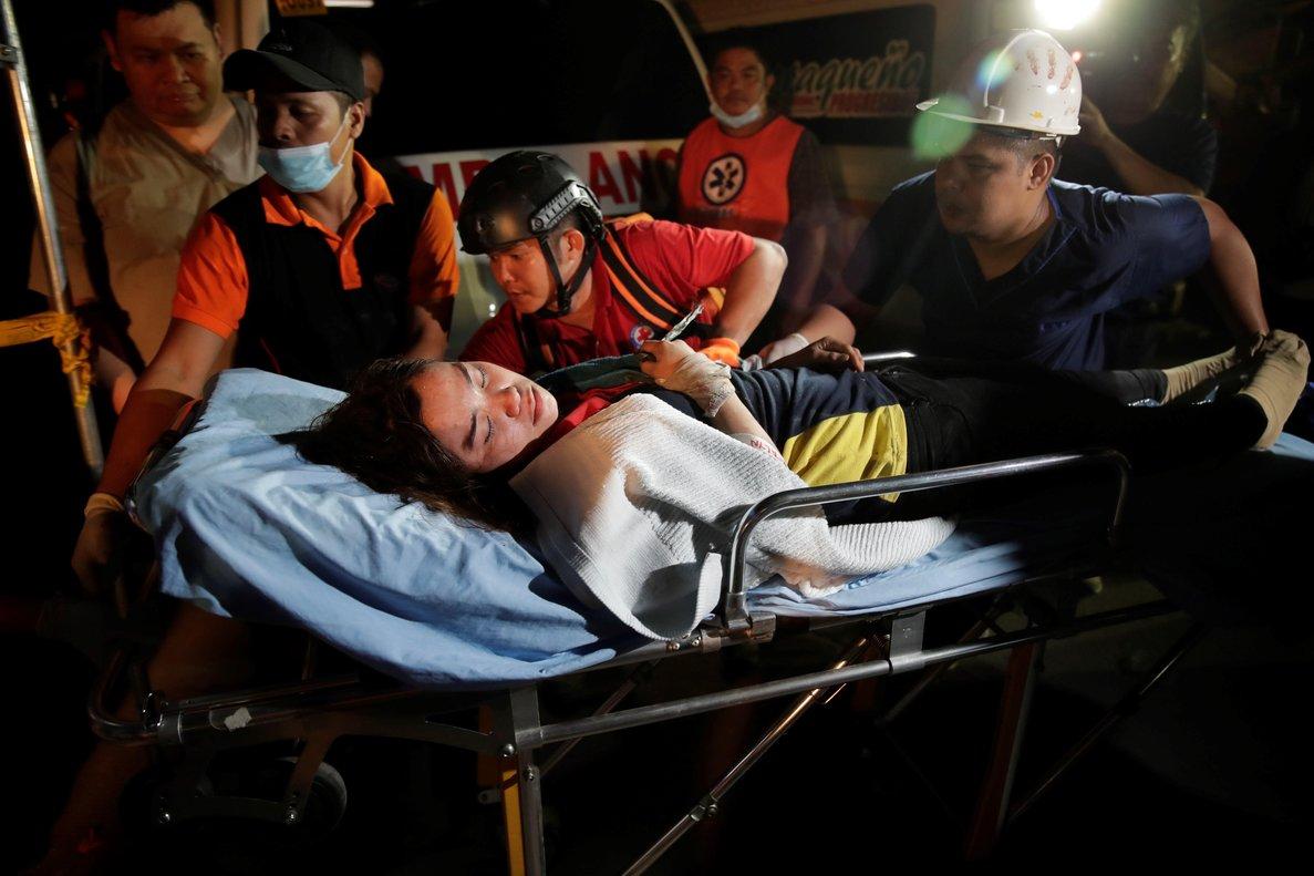 El epicentro del terremoto se situó cerca de la localidad de Castillejos (Zambales), a unos 100 kilómetros al noroeste de Manila.