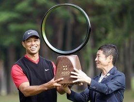 Tiger Woods, de 43 años, sigue haciendo historia en el golf.