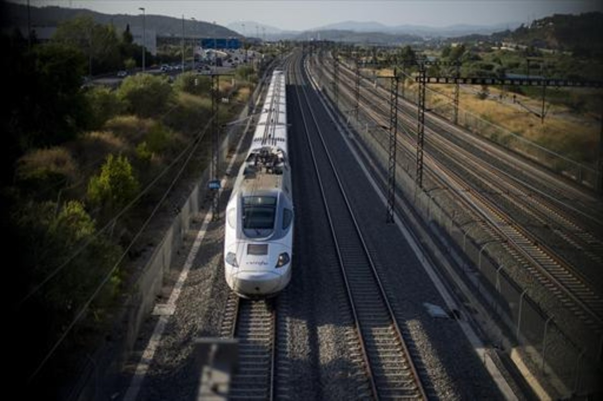 Un tren del AVE.