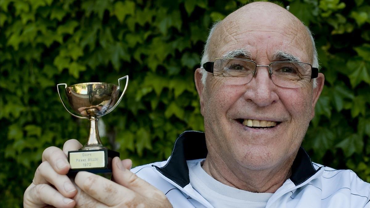 Mor Andrés Gimeno, llegenda del tennis espanyol
