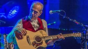 Francis Rossi, durante el concierto de Status Quo en el Liceu.