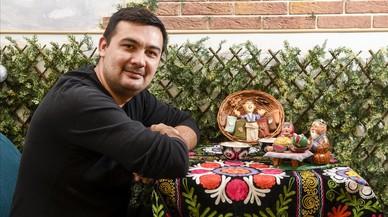 """Naufal Vagapov: """"El meu somni seria crear un mini-Uzbekistan a Barcelona"""""""