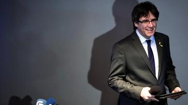Puigdemont reclama a l'Estat que permeti investir Jordi Sànchez