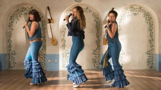 Fotograma de la secuela 'Mamma Mia! Una y otra vez' (2018).