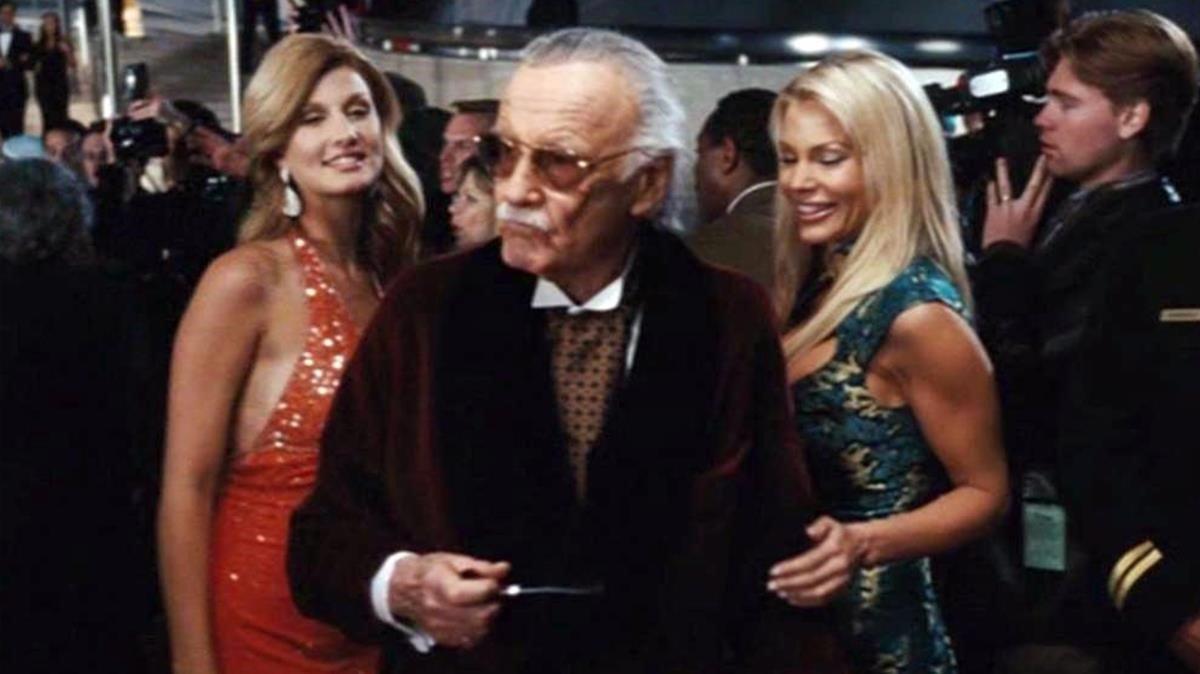 Cameo de Stan Lee en 'Iron Man'.