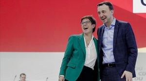 La CDU comença la seva renovació per a l'era post-Merkel