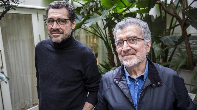 Patricio Wang y Rodolfo Parada, Quilapayún.