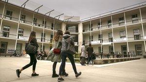Campus de la Ciutadella de la Universitat Pompeu Fabra (UPF), en Barcelona.