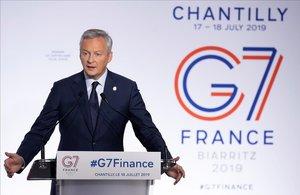 El G-7 acuerda poner en marcha impuestos para las tecnológicas