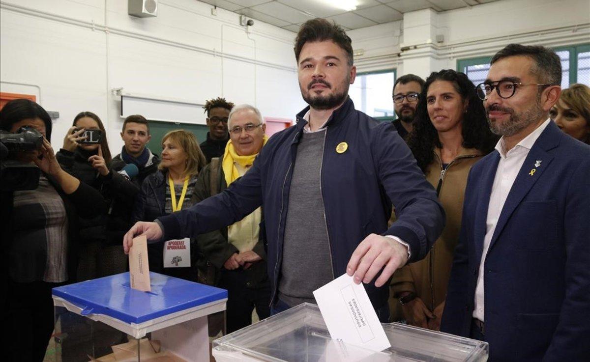El disputat vot del senyor Rufián