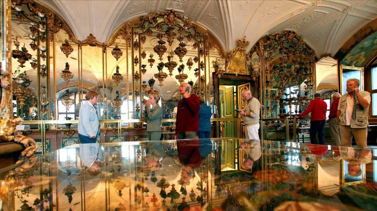 Espectacular robatori de diamants al centre històric de Dresden