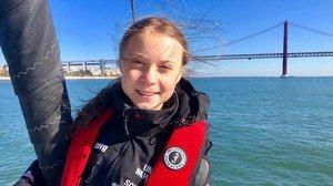 Greta Thunberg y la escapada del puente