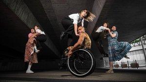 La compañía Stopgap de danza inclusiva presentará 'Frock'.