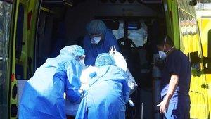 Un «tsunami» de malalts de coronavirus als hospitals de Londres