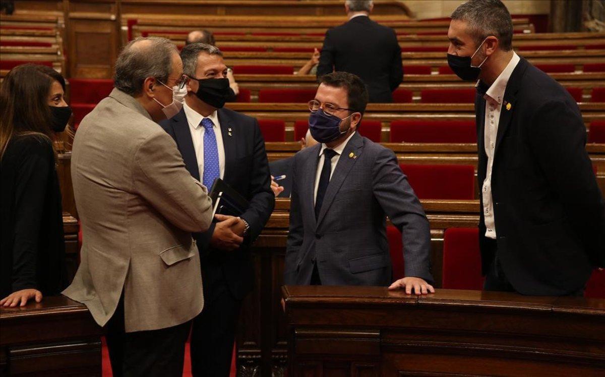 El debat de política general del Parlament de Catalunya, en DIRECTE
