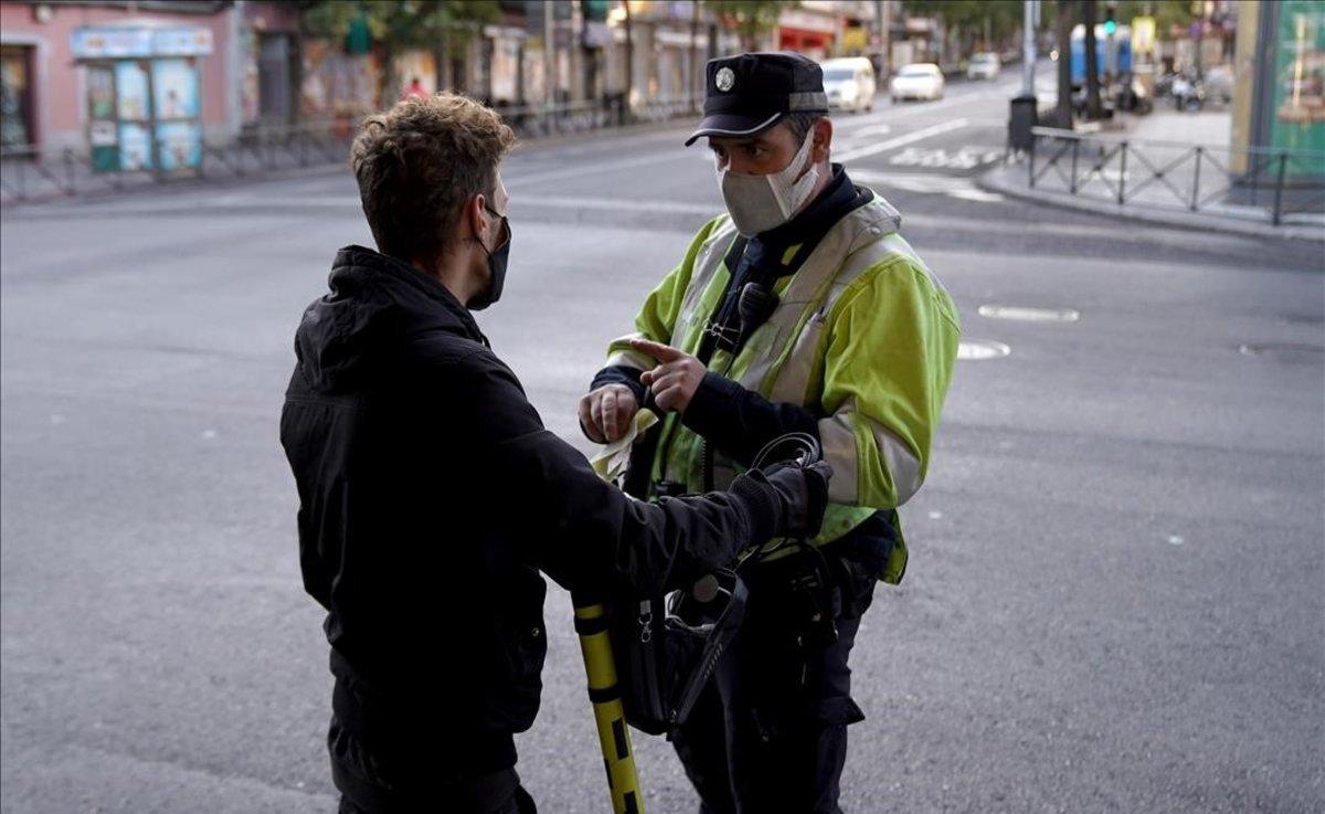 La Policia podrà accedir a dades sanitàries per controlar les quarantenes a Madrid