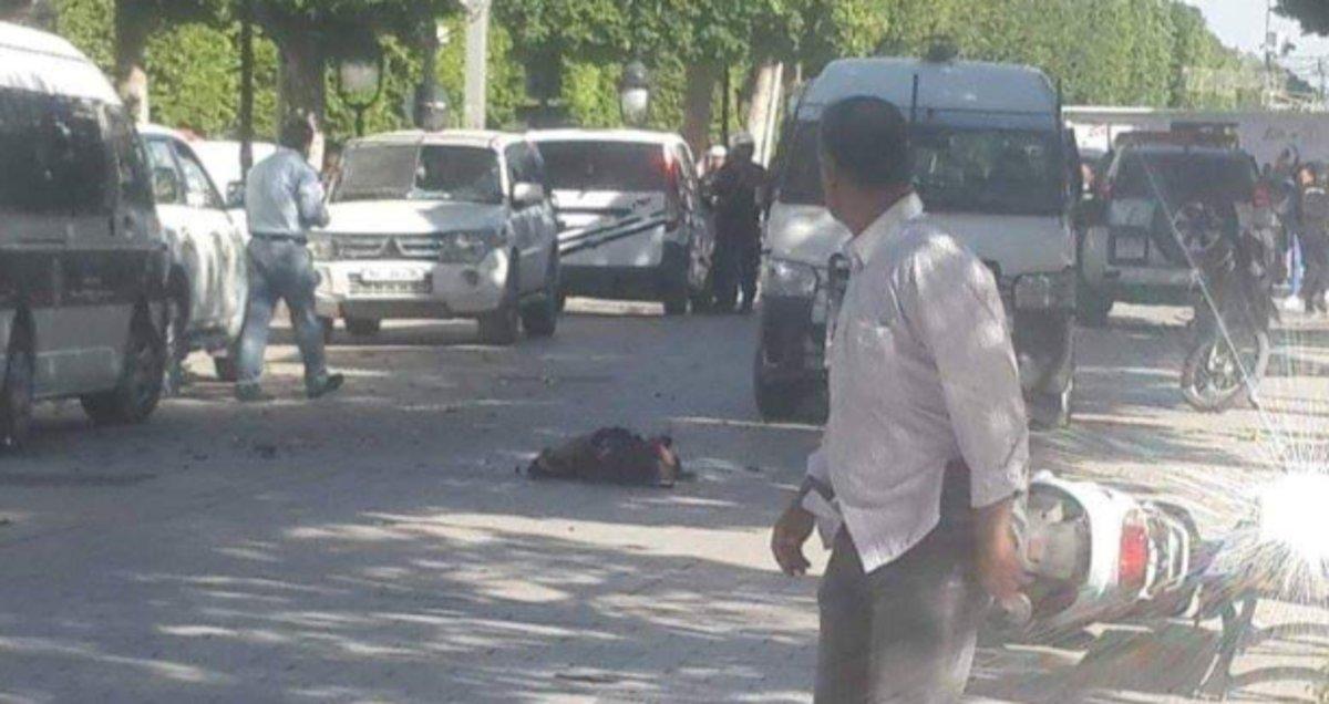 Atentado terrorista en el centro de Túnez.