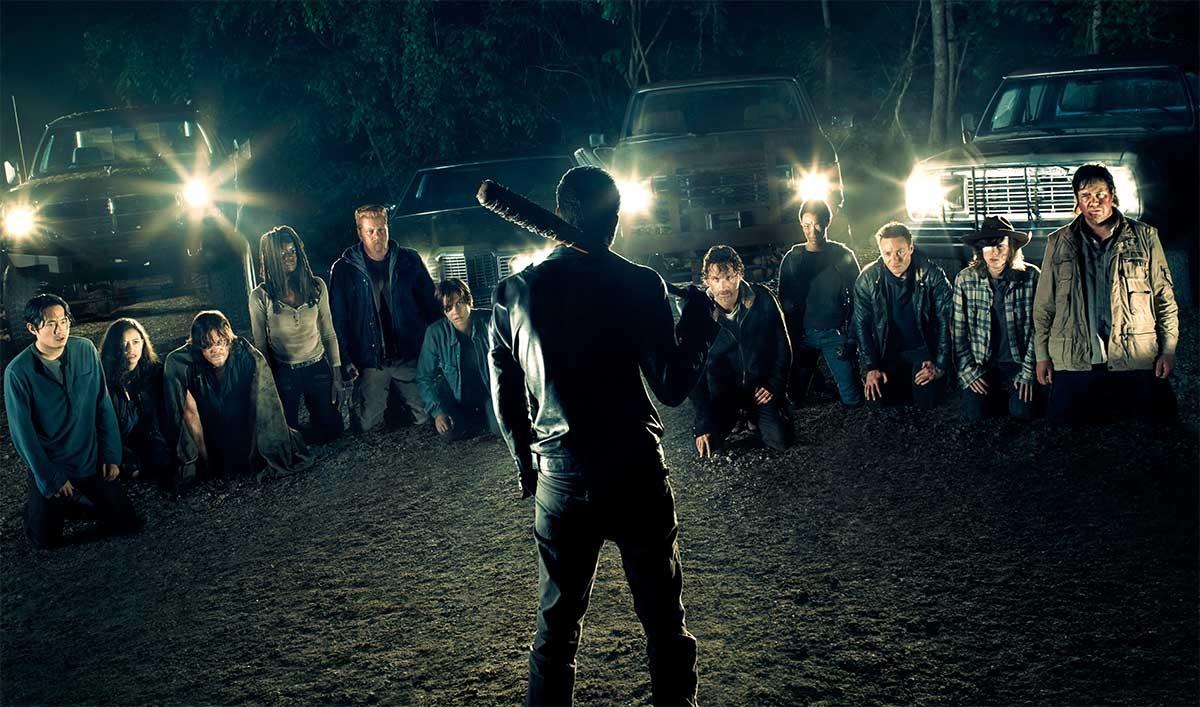 Imagen promocional de la séptima temporada de 'The walking dead'.