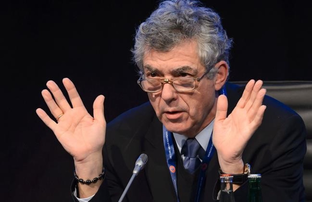 Ángel Villar, presidente de la Federación, en una imagen de archivo