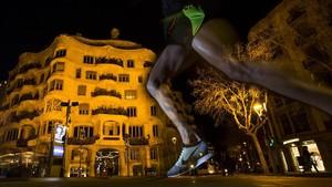 La Pedrera es uno de los monumentos ante los que pasa el maratón de Barcelona.