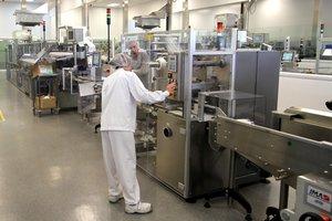 Una fábrica de medicamentos de Sanofi.
