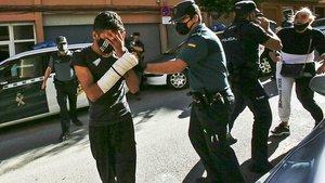 La Guàrdia Civil deté el setè implicat en la violació grupal d'una nena a Xàtiva