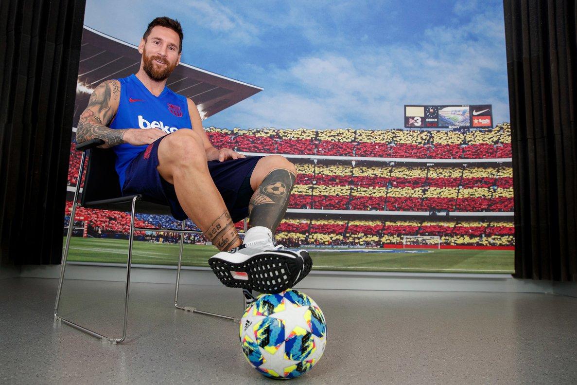 Leo Messi: «No vull anar-me'n del Barça, però vull un projecte guanyador»