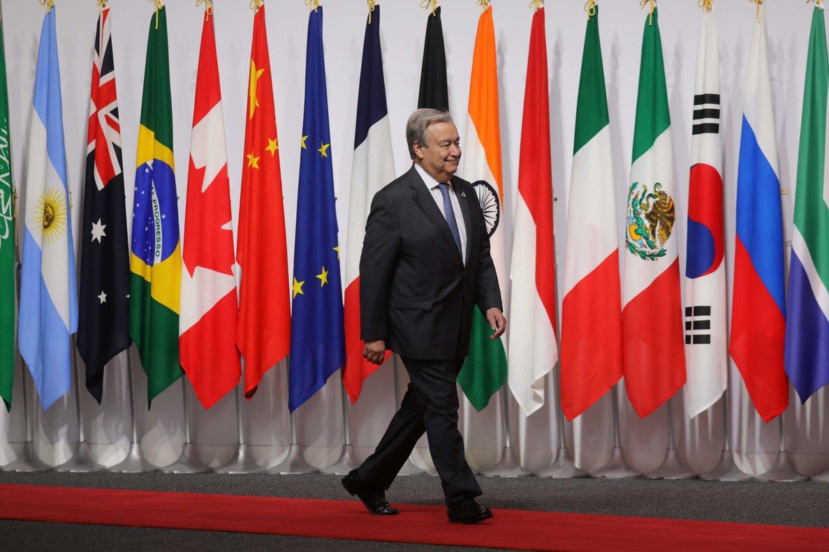 António Guterres,secretario general de la ONU.